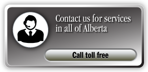 Contact us for services in all of Alberta Call toll free